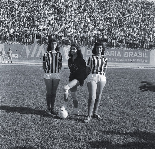 Beginning of the match between América Futebol Clube and Clube Atlético Mineiro in the Estadio Independência, in Belo Horizonte (MG).