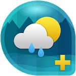 Weather & Clock Widget for Android Ad Free Icon
