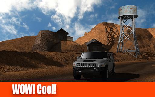 Desert Trucks Race 4x4