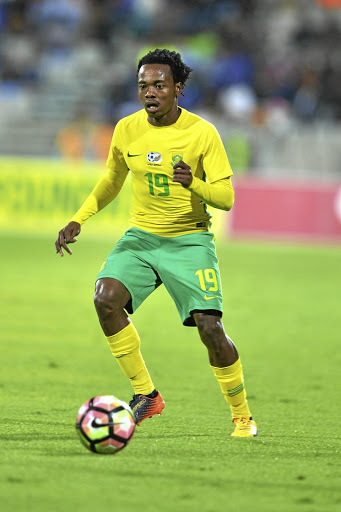 Percy Tau. File photo.