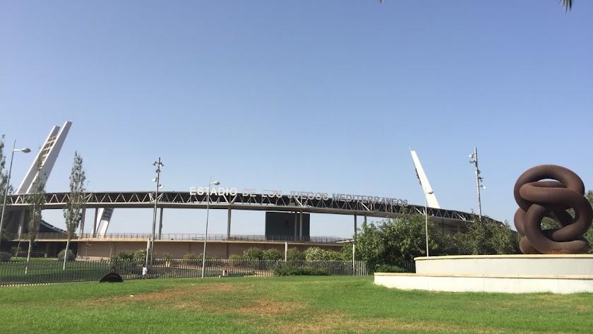El Estadio Mediterráneo.