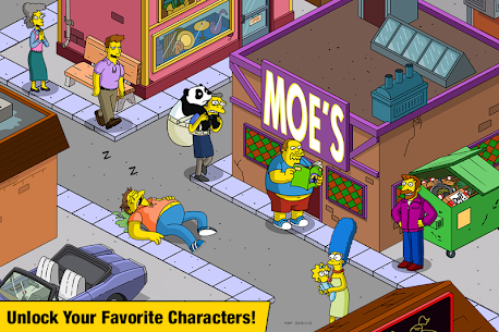 The Simpsons Tapped Out 4.45.5 Mod (Unlimited Money) 2