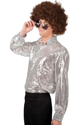 Discoskjorta Spangles