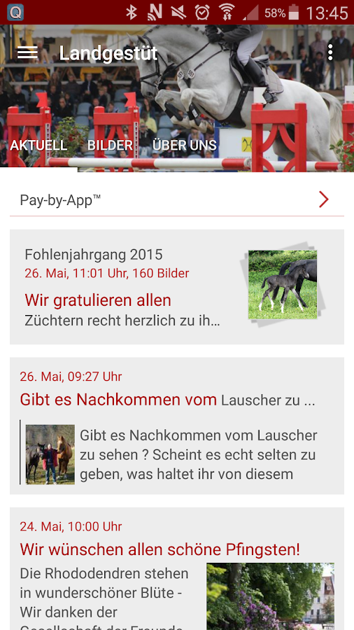 Landgestüt Celle- screenshot