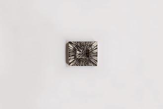 Photo: cosmos de bolsillo / tinta sobre madera y lino  proyecto Fundación Benetton para la Bienal de Venecia