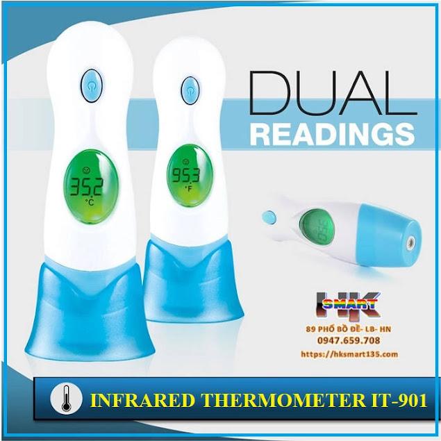 Máy đo nhiệt kế hồng ngoại Infrared Thermometer IT-901