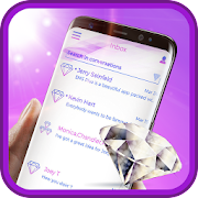 Diamond Love Theme SMS Plus