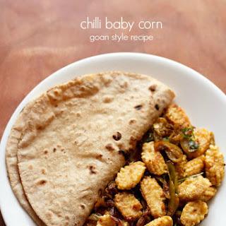 Goan Style Chilli Baby Corn Fry