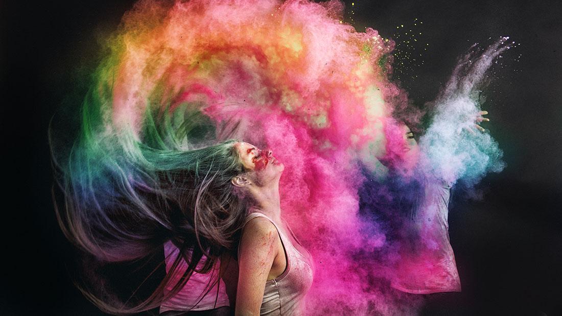 как выбрать цветную краску для волос
