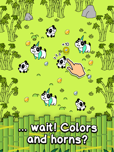 Panda Evolution - Cute Bear Making Clicker Game apkpoly screenshots 6