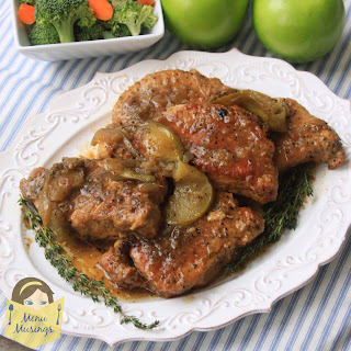 Crock Pot Pork Chops.