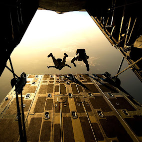 Sky by Jay Reich - People Group/Corporate ( sky, plane, skydiving, military, inside, fun,  )