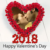 Valentine's day 2018 Love frame