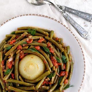 Mediterranean-Style Green Beans.