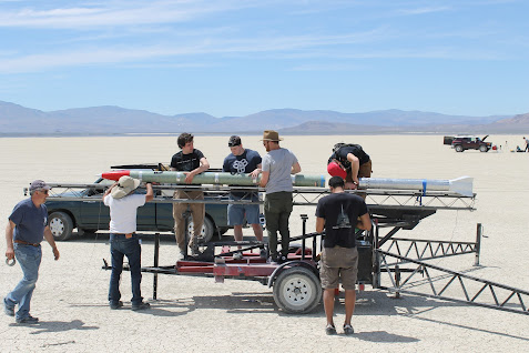 Ursa 2.1 launch operations (Credit: Team Ursa)