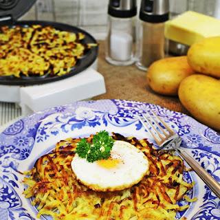 Potato Waffle Rosti.