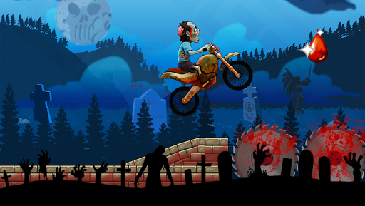 Zombie Rider: Where's my blood