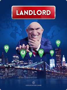 Landlord Tycoon - Money Investing Idle with GPS Screenshot