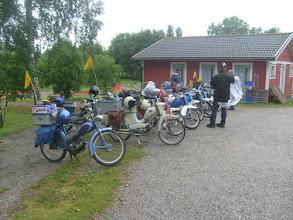 Photo: Ålannin matkalla,tauolla Brändö,Gullvivanin pihalla