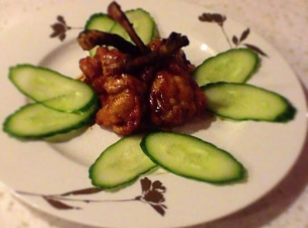 Balsamic Glazed Chicken Pops Recipe