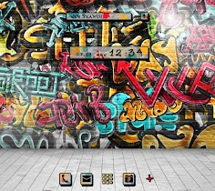 Graffiti Wallpaper&icon - screenshot thumbnail 01
