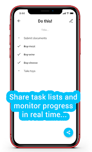 Simple to-do list. Shopping list. Share via link!