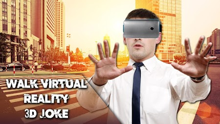 Walk Virtual Reality 3D Joke APK screenshot thumbnail 1