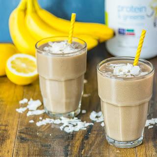 Coconut Banana Smoothie.