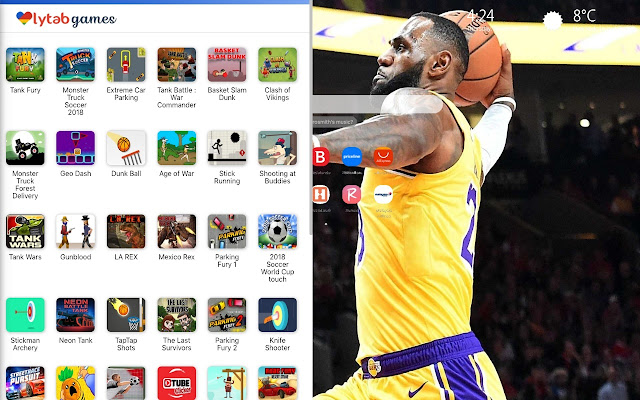 LeBron James Lakers Wallpapers HD New Tab