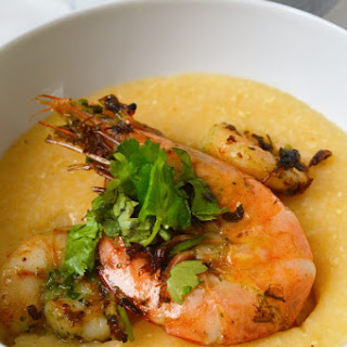 Garlic Lime Shrimp And Grits