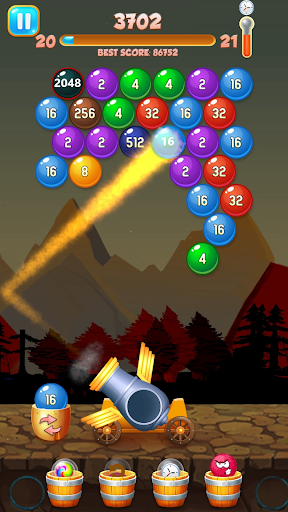 Happy Bubble For Tik Tok: Bubble Shooter Merge android2mod screenshots 1