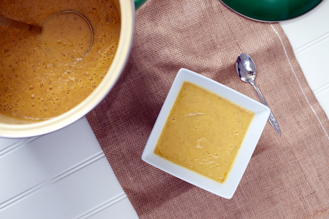 Creamy Carrot & Parsnip Soup Recipe