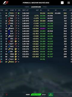 Official F1 ® App screenshot 07