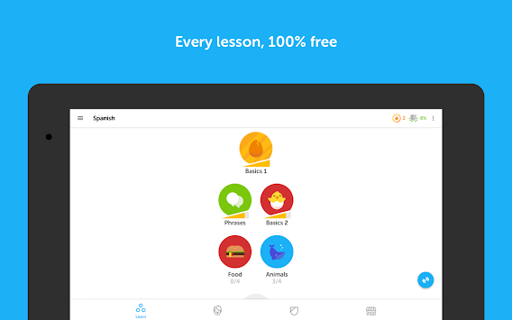 Duolingo: Learn Languages Free APK screenshot thumbnail 7