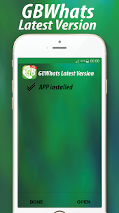 GBWhatsaap Latest Version (V6.50) - náhled