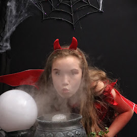 by Chrissy Woodhouse - Public Holidays Halloween ( halloween, devil, dress up )