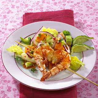 Spicy Prawn and Avocado Salad