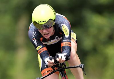 An-Sophie Duyck is voor vijfde jaar op rij Belgisch kampioen tijdrijden