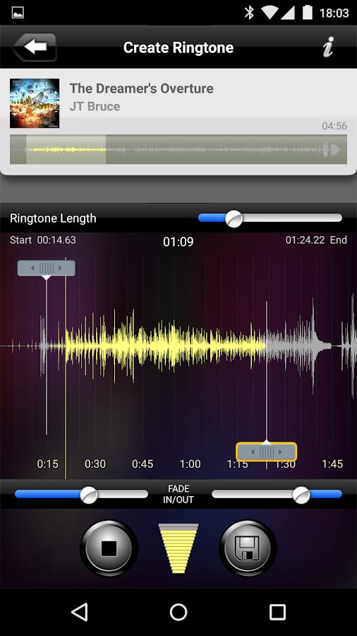 Ringtone Architect- screenshot