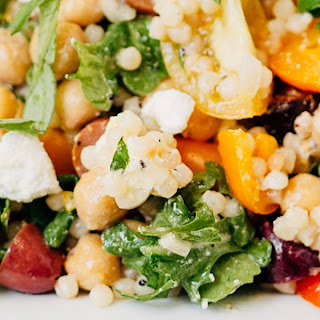 Mediterranean Pearled Couscous Salad.