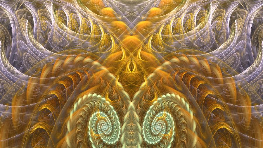 twirls by Brad Stefanov - Illustration Abstract & Patterns