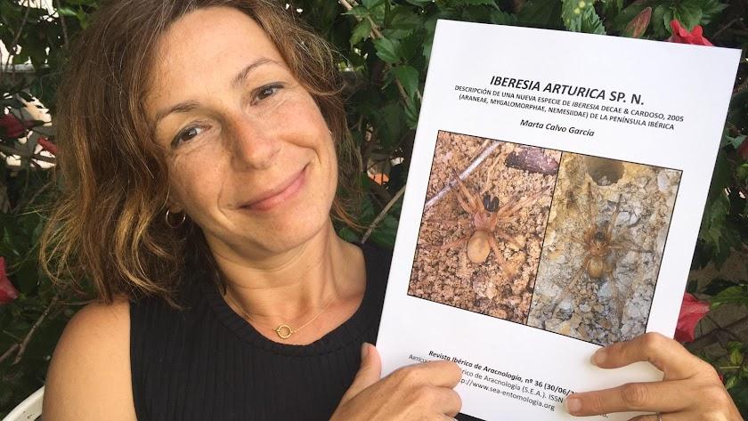 Marta Calvo es comercial y bióloga.