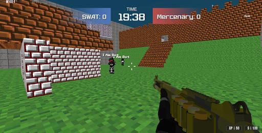 Combat Pixel Arena 3D - Fury Man