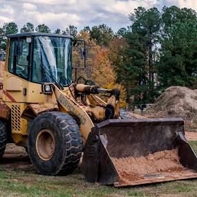 Front Loader by Frank Matlock II - Products & Objects Industrial Objects ( earth mover, industrial, construction, front loader, machines )