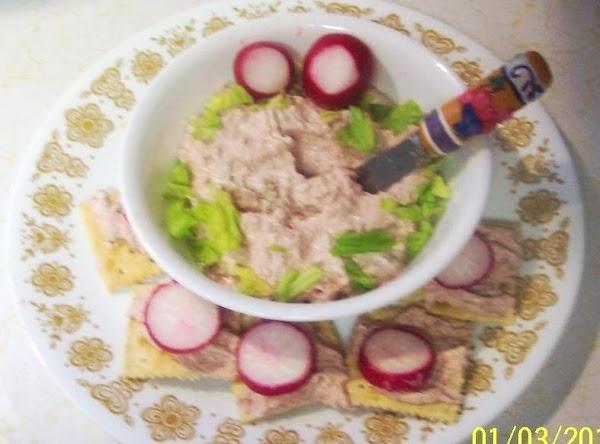 Serve with crackrs or fresh cut veggies.