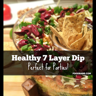 Healthy 7 Layer Dip.