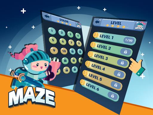 Maze - Jeux Gratuits Hors Ligne APK MOD (Astuce) screenshots 2