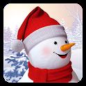 Happy Snowman Live Wallpaper icon
