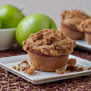 Healthy Apple Pecan Muffins