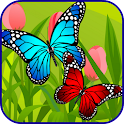 Butterfly Link Games For Kids icon